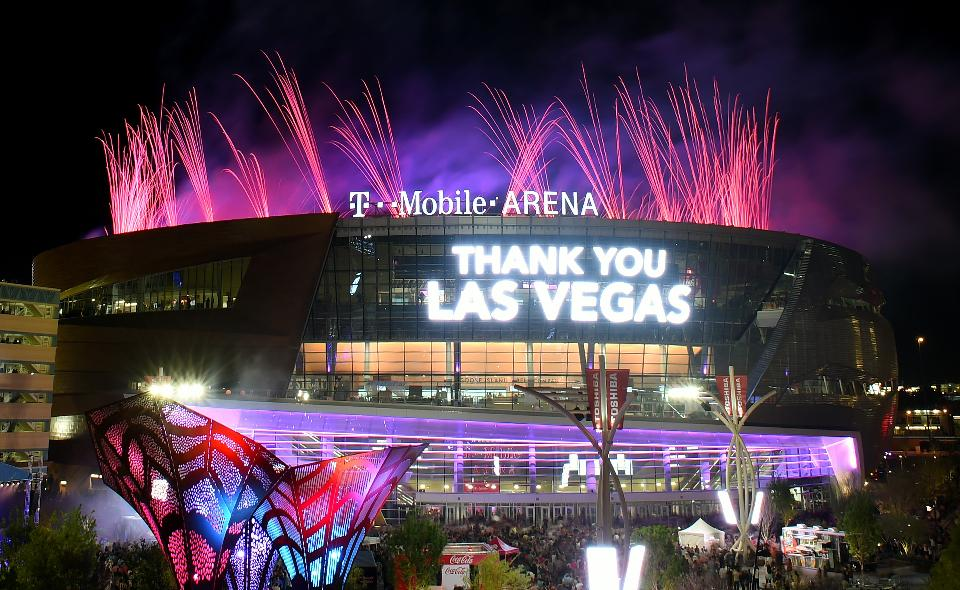How Loud Can a Hockey Goal Horn be on the Famous Las Vegas Strip?
