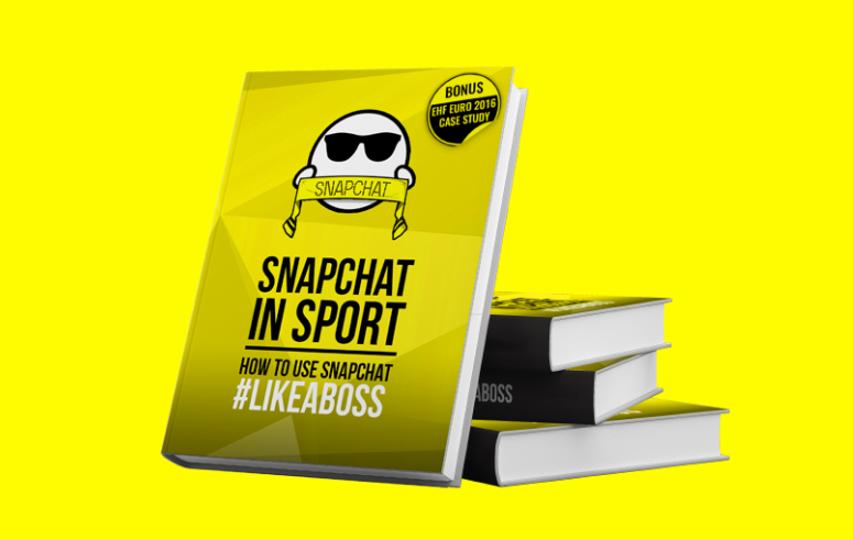 """Snapchat in Sport"" eBook launch"
