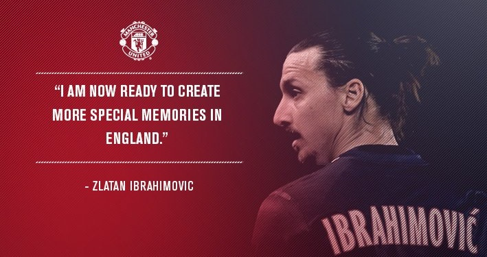 Manchester United On Twitter After Signing Of Zlatan Ibrahimovic How To Act In First 24 Hours Overtime Sport Marketing
