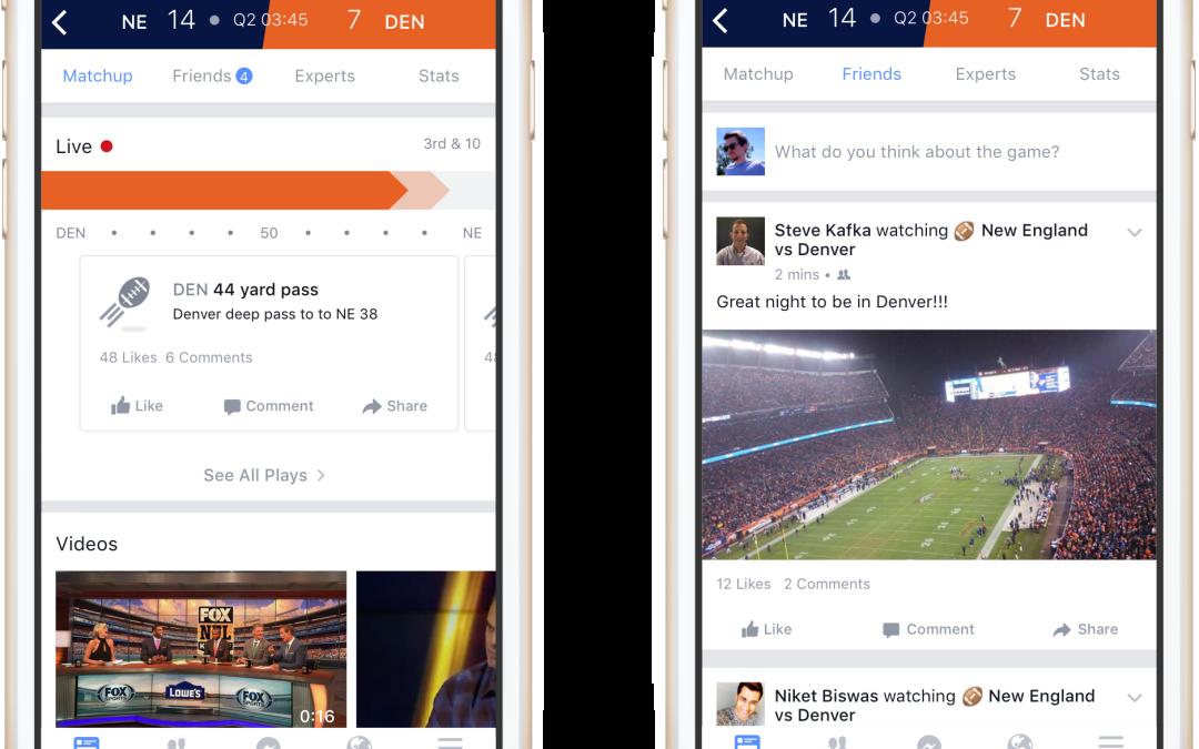 Facebook built a virtual stadium with 650 million seats